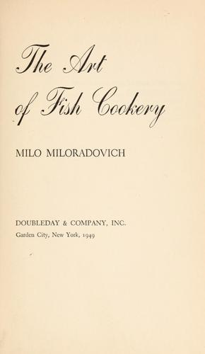 Download The art of fish cookery.