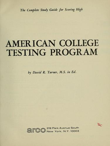Download American College Testing Program