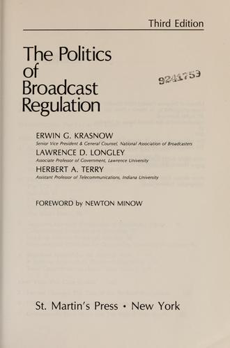 Download The politics of broadcast regulation