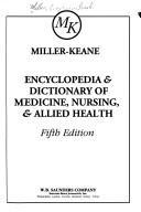 Encyclopedia & dictionary of medicine, nursing, & allied health