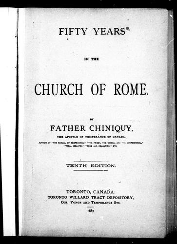 Download Fifty years in the Church of Rome