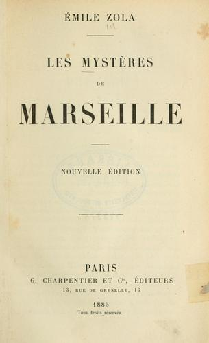 Les mystères de Marseille.