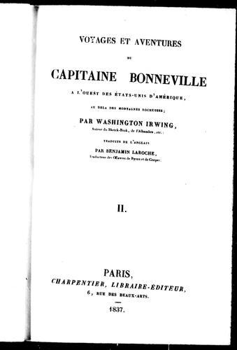 Download Voyages et aventures du capitaine Bonneville à l'ouest des États-Unis d'Amérique, au delà des Montagnes Rocheuses