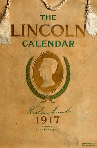 Download The Lincoln calendar