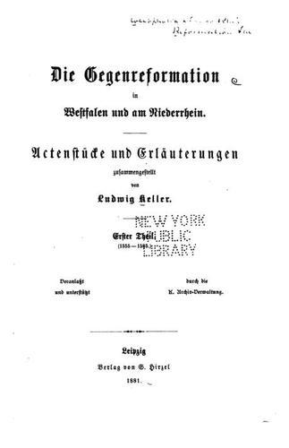 Download Die Gegenreformation in Westfalen und am Niederrhein