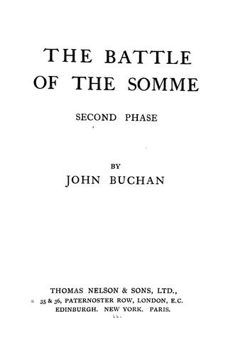 Download The battle of the Somme, second phase