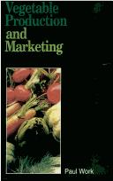 Vegetable Production and Marketing