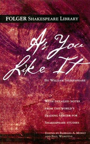 As You Like It (Folger Edition) by William Shakespeare