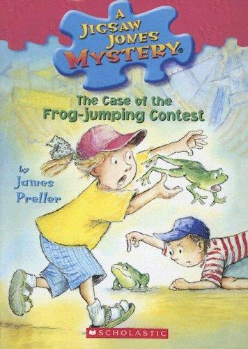 The Case Of The Frog-Jumping Contest (Jigsaw Jones Mysteries)