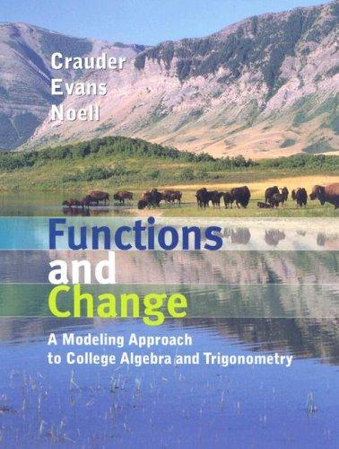 Crauder Functions and Change