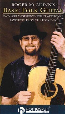 cover of  roger mcguinns basic folk guitar by roger mcguinn