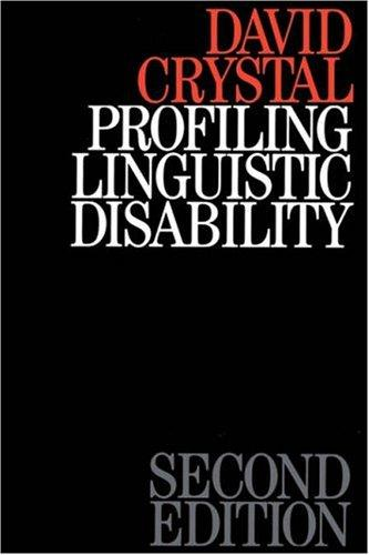 Download Profiling Linguistic Disability