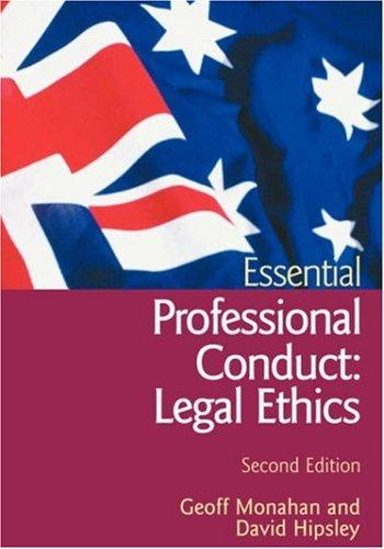 Download Essential Professional Conduct
