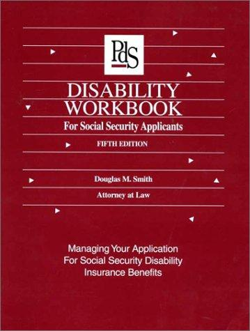 Download Disability workbook for social security applicants