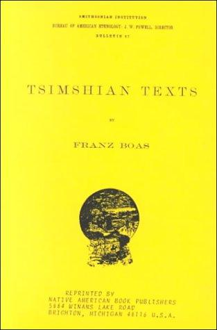 Download Tsimshian Texts