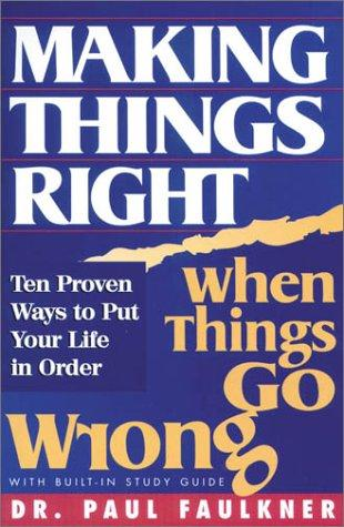 Download Making things right when things go wrong