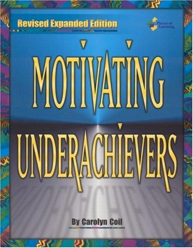 Download Motivating Underachievers