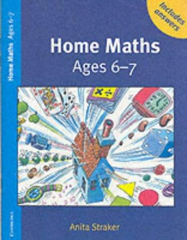 Home Maths Ages 6-7 Trade edition by Anita Straker