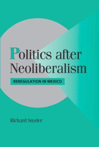 Politics after Neoliberalism