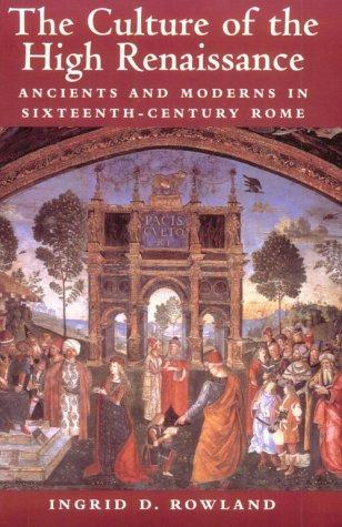 The Culture of the High Renaissance