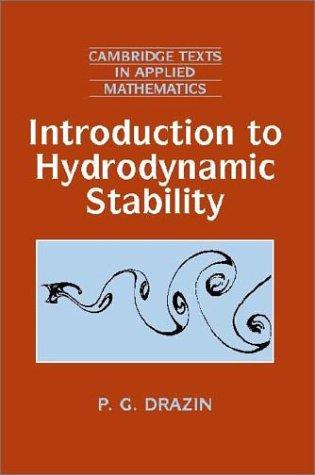 Download Introduction to Hydrodynamic Stability