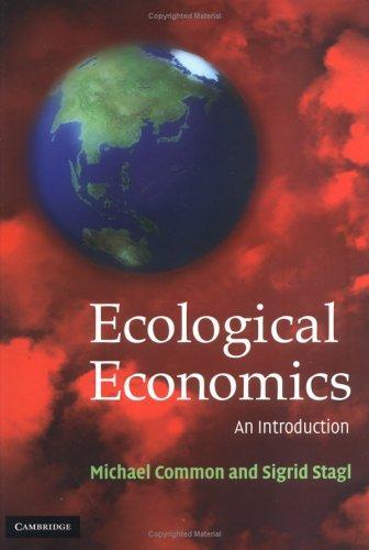 Download Ecological economics