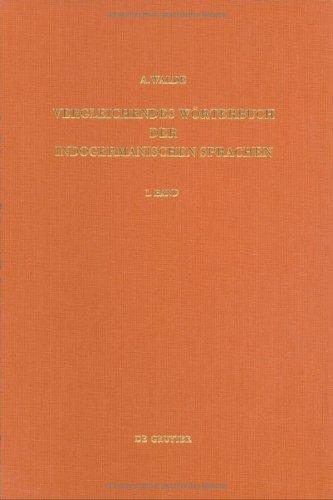 Download Vergleichendes Wörterbuch der Indogermanischen Sprachen