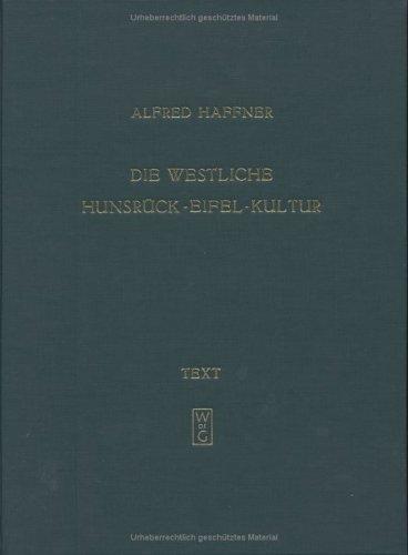 Die westliche Hunsrück-Eifel-Kultur
