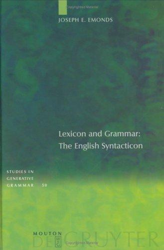 Download Lexicon and grammar
