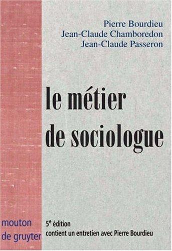 Download Le métier de sociologue