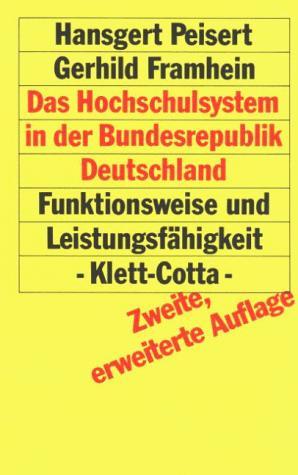 Download Das Hochschulsystem in der Bundesrepublik Deutschland