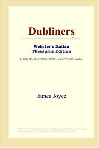 Download Dubliners (Webster's Italian Thesaurus Edition)