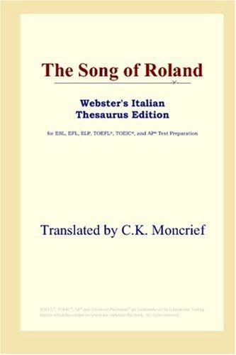 Download The Song of Roland (Webster's Italian Thesaurus Edition)