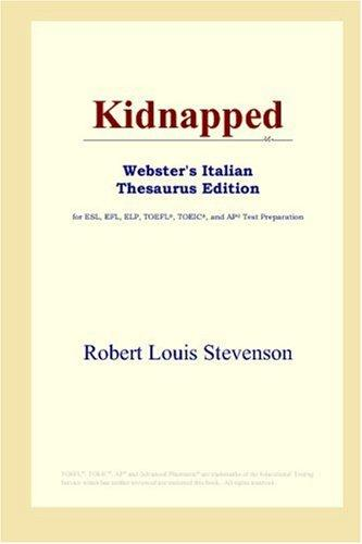 Kidnapped (Webster's Italian Thesaurus Edition)