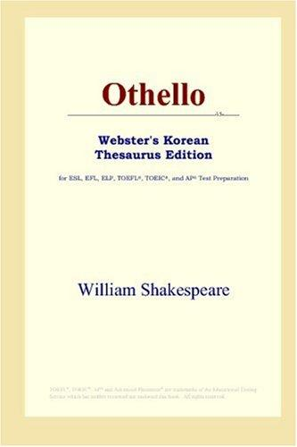 Othello (Webster's Korean Thesaurus Edition)