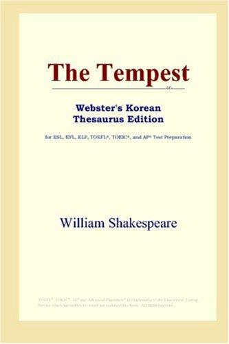 The Tempest (Webster's Korean Thesaurus Edition)