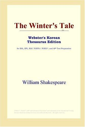 The Winter's Tale (Webster's Korean Thesaurus Edition)