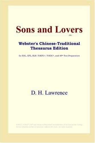 Download Sons and Lovers (Webster's Chinese-Traditional Thesaurus Edition)