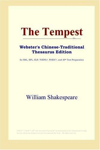 Download The Tempest (Webster's Chinese-Traditional Thesaurus Edition)