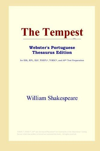The Tempest (Webster's Portuguese Thesaurus Edition)