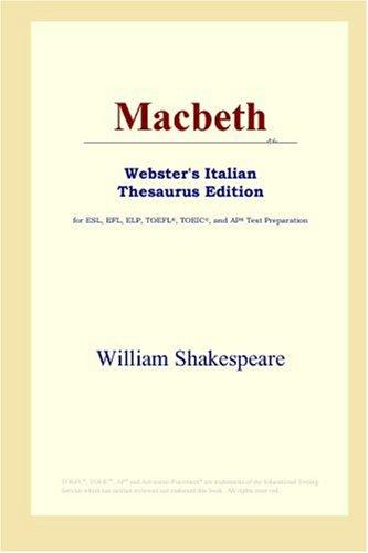 Macbeth (Webster's Italian Thesaurus Edition)
