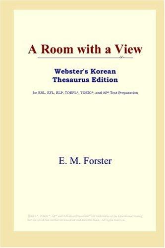 Download A Room with a View (Webster's Korean Thesaurus Edition)