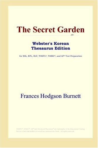 The Secret Garden (Webster's Korean Thesaurus Edition)