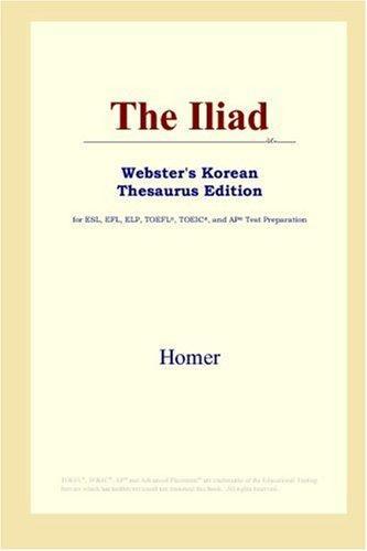 The Iliad (Webster's Korean Thesaurus Edition)