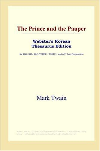 Download The Prince and the Pauper (Webster's Korean Thesaurus Edition)