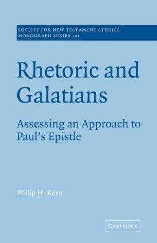 Download Rhetoric and Galatians
