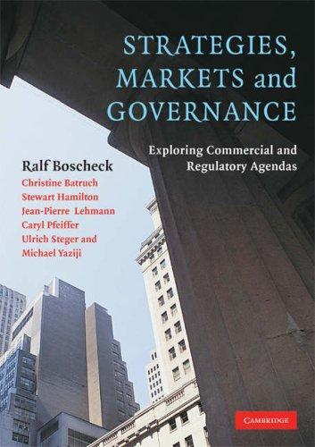 Download Strategies, Markets and Governance