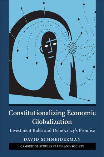 Download Constitutionalizing Economic Globalization