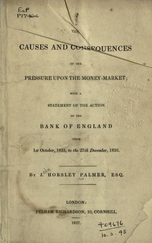 Download The causes and consequences of the pressure upon the money-market