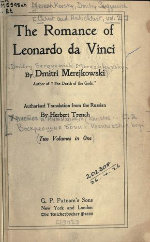 Download The romance of Leonardo da Vinci.